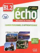 Echo 2e edition B1.2. Cahier d'exercices + CD audio + livre-web - фото обкладинки книги