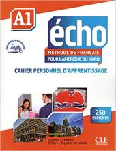 Echo A1 : Cahier personnel d'apprentissage - фото обкладинки книги