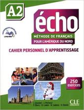 Echo A2 : Cahier personnel d'apprentissage - фото обкладинки книги