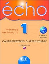 Echo: Cahier d'exercices + CD audio - фото обкладинки книги