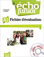 Echo Junior : Fichier d'evaluation + CD-audio A1 - фото обкладинки книги