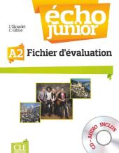 Echo Junior : Fichier d'evaluation + CD-audio A2 - фото обкладинки книги