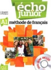 Echo Junior : Livre de l'eleve + DVD-Rom A1 - фото обкладинки книги