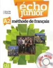Echo Junior : Livre de l'eleve + DVD-Rom A2 - фото обкладинки книги