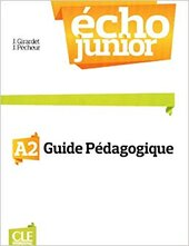 Echo Junior : Livre Du Professeur A2 - фото обкладинки книги