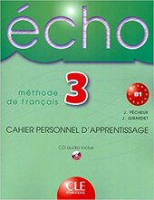 Echo : Livre de l'eleve + portfolio 3 - фото обкладинки книги