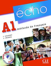 Echo (Nouvelle Version) : Livre De L'Eleve + Portfolio + DVD-Rom A1 - фото обкладинки книги
