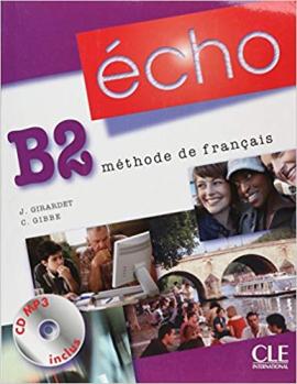 Echo (Nouvelle Version) : Livre De L'Eleve + Portfolio + DVD-Rom B2 - фото книги