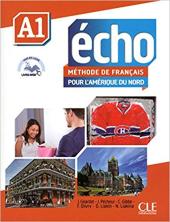 Echo pour l'Amrique du Nord - Niveau A1 - livre de l'lve + DVD Rom + Livre web А1 - фото обкладинки книги