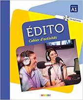 Edito A1. Cahier d'exercices + CD mp3 - фото обкладинки книги