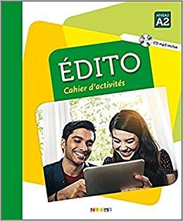 Edito A2. Cahier d'exercices + CD mp3 - фото книги