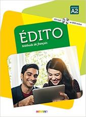 Edito A2. Livre eleve + CD mp3 + DVD - фото обкладинки книги