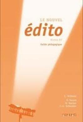 Edito B2. Guide Pedagogique - фото книги