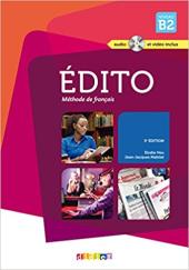 Edito B2. Livre eleve + CD mp3 + DVD - фото обкладинки книги