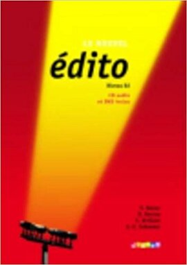 Edito B2. Livre eleve + DVD + CD audio - фото книги