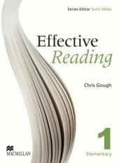 Effective Reading 1. Elementary - фото обкладинки книги