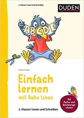 Einfach lernen mit Rabe Linus. Deutsch 1. Klasse Lesen und Schreiben - фото обкладинки книги
