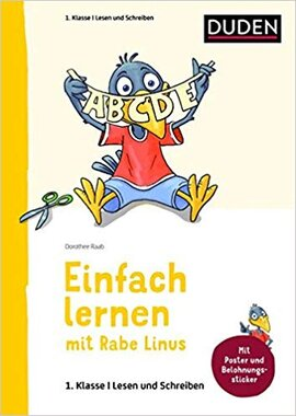 Einfach lernen mit Rabe Linus. Deutsch 1. Klasse Lesen und Schreiben - фото книги