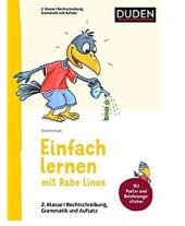Einfach lernen mit Rabe Linus. Deutsch 2. Klasse Rechtschreibung, Grammatik und Aufsatz - фото обкладинки книги