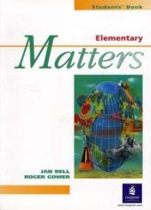 Elementary Matters Student's Book - фото обкладинки книги