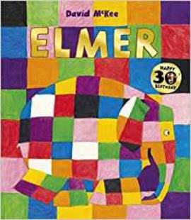 Книга Elmer
