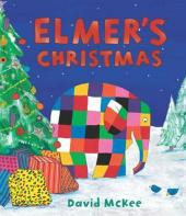 Elmer's Christmas : Mini Hardback - фото обкладинки книги
