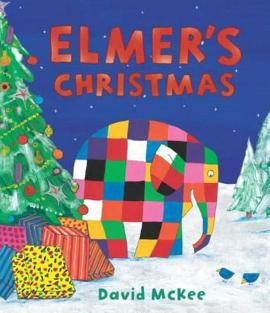 Elmer's Christmas : Mini Hardback - фото книги