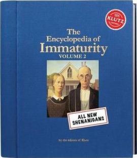 Encyclopaedia of Immaturity: Shenanigans v. 2 - фото книги