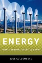 Energy: What Everyone Needs to Know - фото обкладинки книги