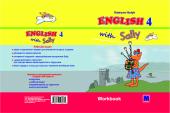 English 4 with Sally Workbook - фото обкладинки книги