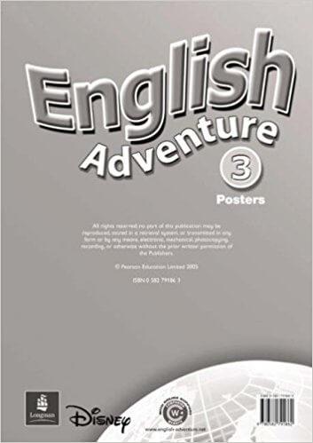 Посібник English Adventure 3 Posters