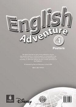 English Adventure 4 Posters - фото книги