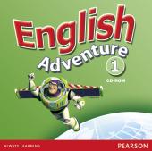 English Adventure Level 1 CD-ROM (аудіодиск) - фото обкладинки книги