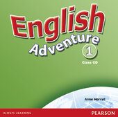 English Adventure Level 1 Class CD (аудіодиск) - фото обкладинки книги