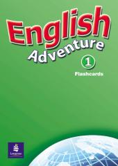 English Adventure Level 1 Flashcards (навчальні картки) - фото обкладинки книги