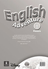 English Adventure Level 1 Posters (плакати) - фото обкладинки книги