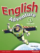 English Adventure Level 1 Student's Book (підручник) - фото обкладинки книги