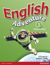 English Adventure Level 1 Teacher's Book (книга вчителя) - фото обкладинки книги