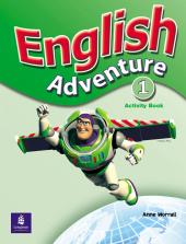 English Adventure Level 1 Workbook - фото обкладинки книги
