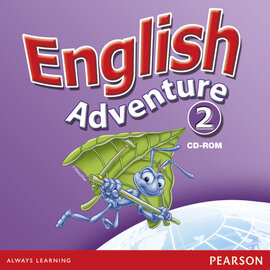 English Adventure Level 2 CD-ROM (аудіодиск) - фото книги
