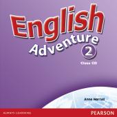 English Adventure Level 2 Class CD (аудіодиск) - фото обкладинки книги
