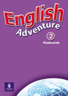 English Adventure Level 2 Flashcards (підручник) - фото книги