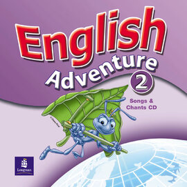 English Adventure Level 2 Songs CD (аудіодиск) - фото книги