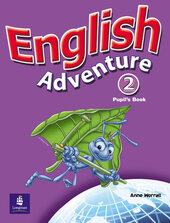 English Adventure Level 2 Student's Book (підручник) - фото обкладинки книги