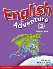 English Adventure Level 2 Teacher's Book (книга вчителя) - фото обкладинки книги