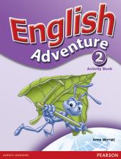 English Adventure Level 2 Workbook - фото обкладинки книги