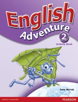 English Adventure Level 2 Workbook - фото книги