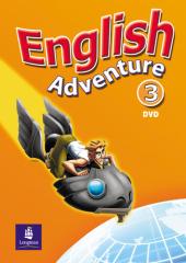 English Adventure Level 3 DVD (відеодиск) - фото обкладинки книги