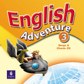 English Adventure Level 3 Songs CD (аудіодиск) - фото обкладинки книги