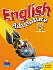 English Adventure Level 3 Student's Book (підручник) - фото обкладинки книги
